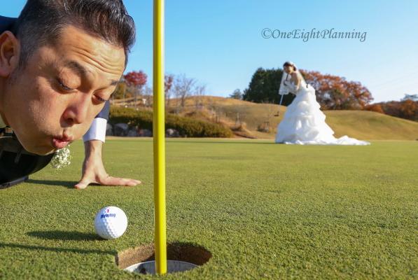 ゴルフウェディング0002