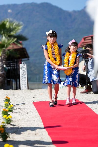 琵琶湖バーベキューウェディング011