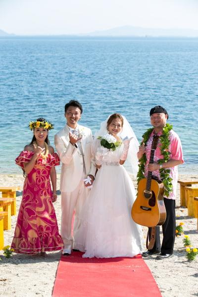 琵琶湖バーベキューウェディング016