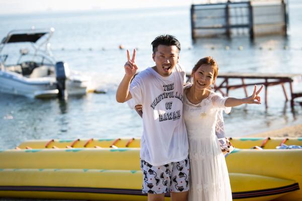 琵琶湖バーベキューウェディング040